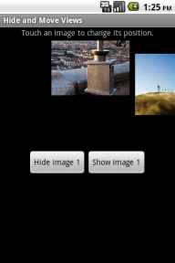 Images in HideAndMove after a few clicks