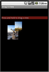 Moving the text view