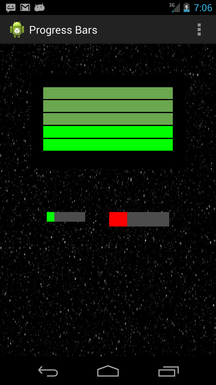 Two Progress Bars for Android | More Is Not Always Better