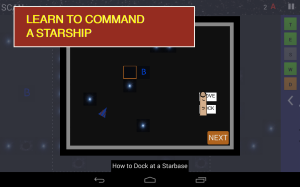 Learn to command a starship