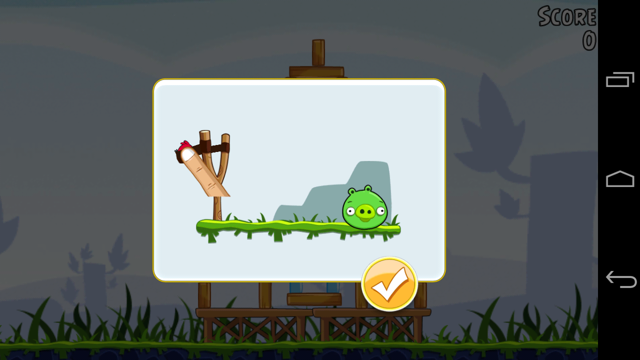 Lessons from angry birds my thoughts on android game tutorials angry birds slingshot action 01 baditri Images