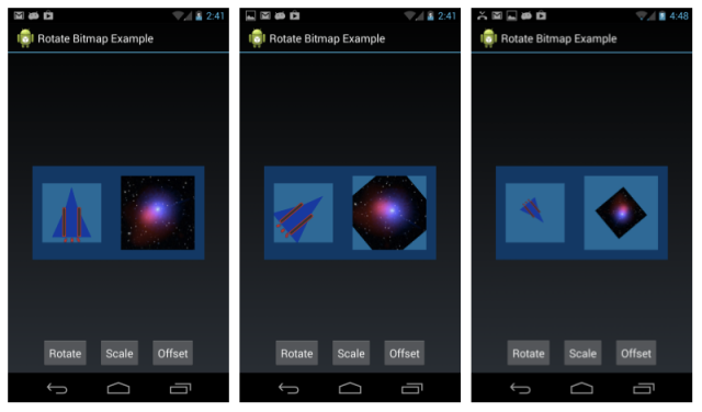 Android Rotate and Scale Bitmap Example - DZone Mobile